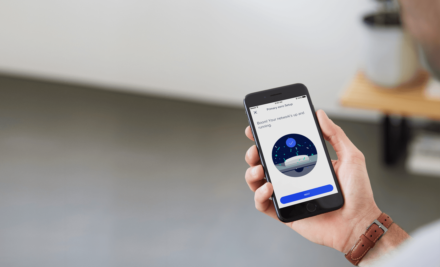 Finally A Whole Home Wifi System That Works Eero Wiring Your House For Internet Learn More