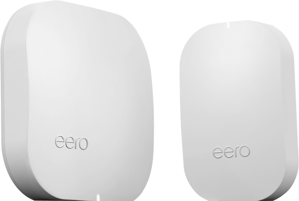 eero Pro and eero Beacon hero image