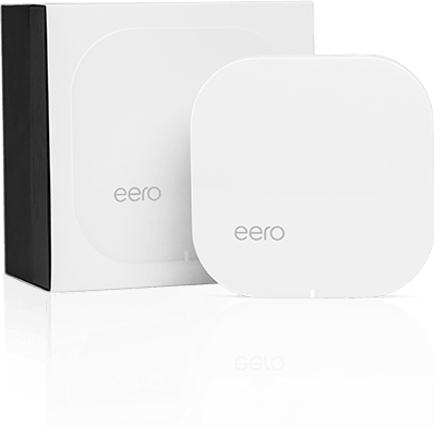 eero next to eero retail packaging