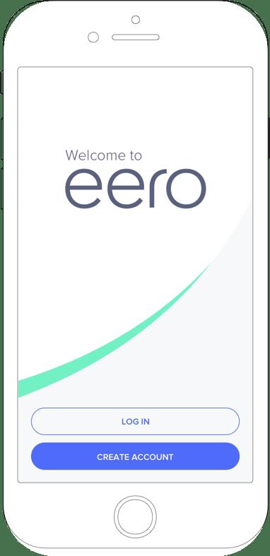 eero App start screen